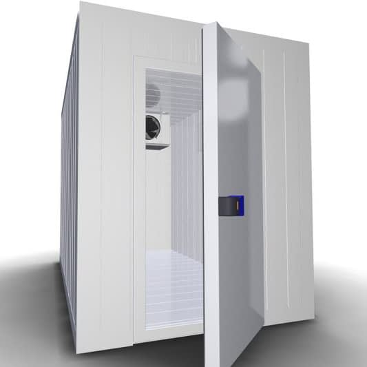 Холодильная камера КС8-9,83 - открытая дверь