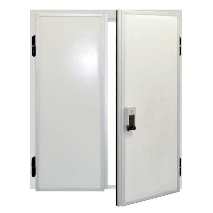 Распашная двухстворчатая дверь РДД 800*1800*80